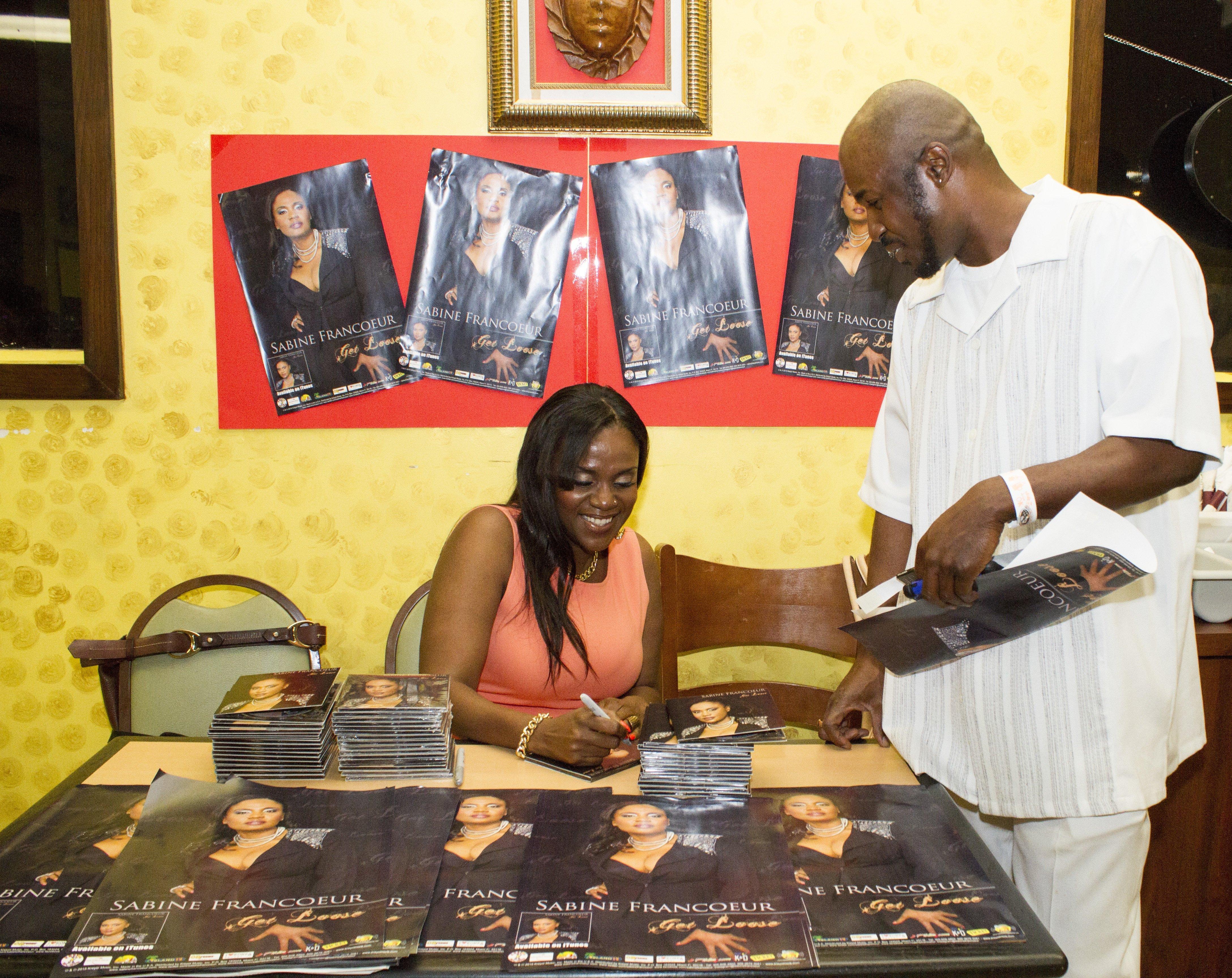Sabine signing 2