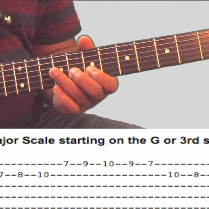 D major scale andtechniques