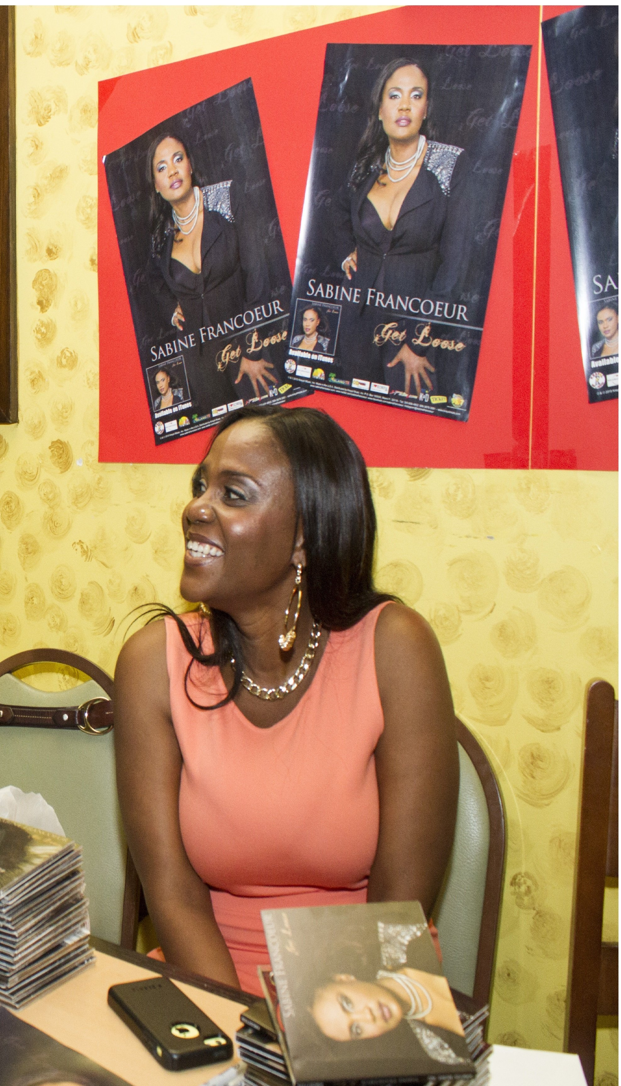 Sabine signing 1